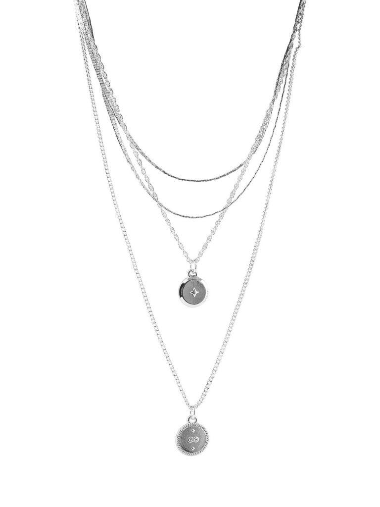 Lebruk Necklace - Silver