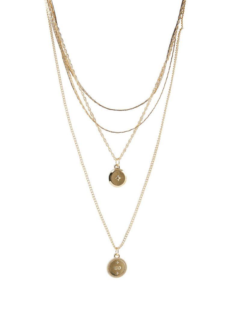 Lebruk Necklace - Gold